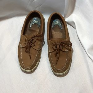 Men's Dr Scholl's Boat Shoes.  Great condition.